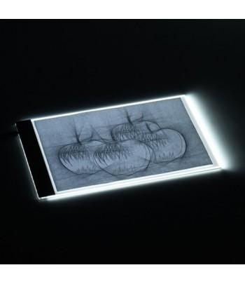 Tablette lumineuse A4