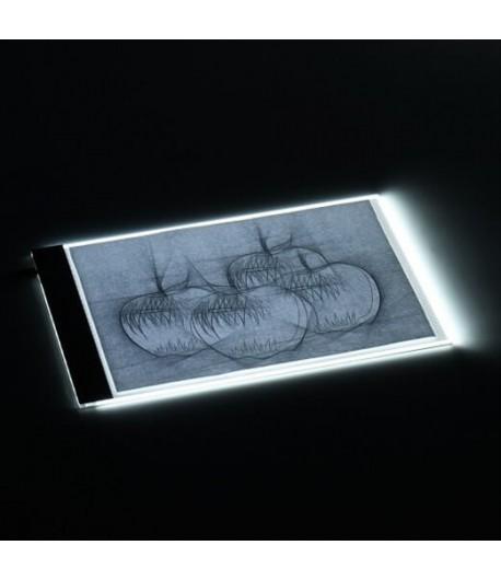 Tablette lumineuse - A4 non réglable