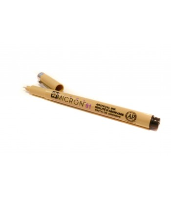 Crayon liner noir, Pigma...