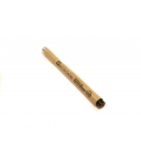 Crayon liner noir, Pigma Micron 0.3