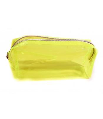 Grosse trousse colorée, jaune