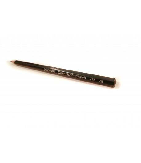 Crayon Grafwood 7B, à l'unité, Caran d'Ache