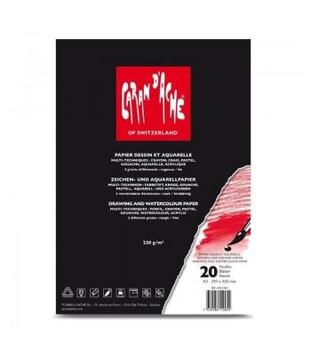 Carnet de 20 feuilles A4,...