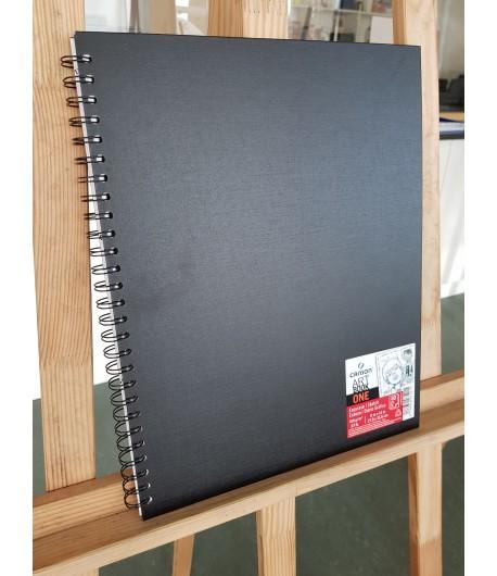 Carnet à dessin Art book one Esquisse 27,9x35,6cm, 80 feuilles, 100g/m², Canson