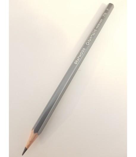 Crayon Grafwood F, à l'unité, Caran d'Ache