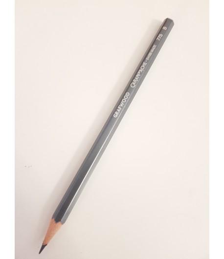 Crayon Grafwood B, à l'unité, Caran d'Ache