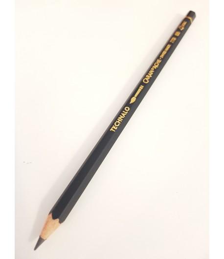 Crayon graphite aquarellable Technalo 6B, à l'unité, Caran d'Ache