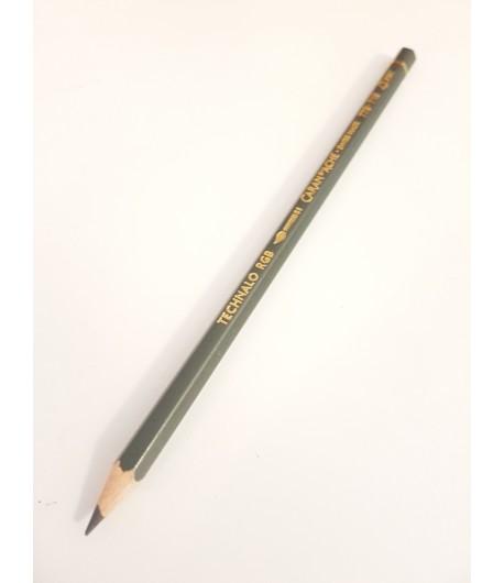 Crayon graphite aquarellable Technalo G (vert), à l'unité, Caran d'Ache