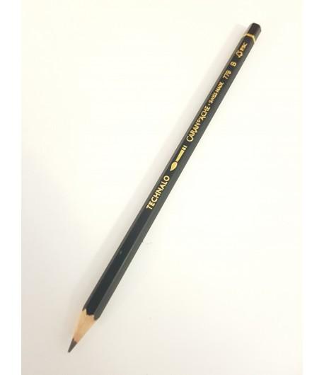 Crayon graphite aquarellable Technalo B, à l'unité, Caran d'Ache