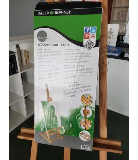 Chevalet de table Simply (orme), Daler Rowney