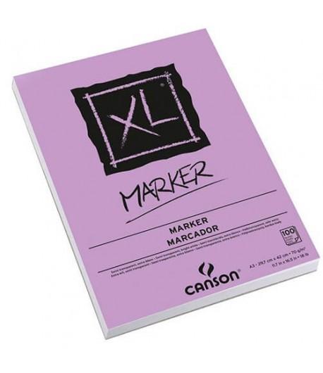 Bloc XL Marker A3, 100 feuilles, 70gr, Canson