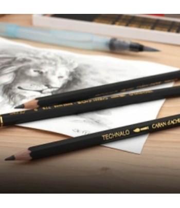 Crayon graphite...